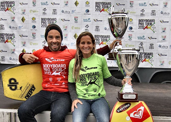 Manuel Centeno and Catarina Sousa: Portuguese champs