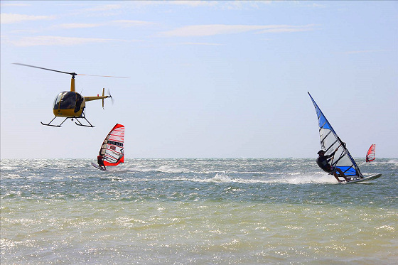 Cervantes Speed Trials 2012: Hollywood windsurfing