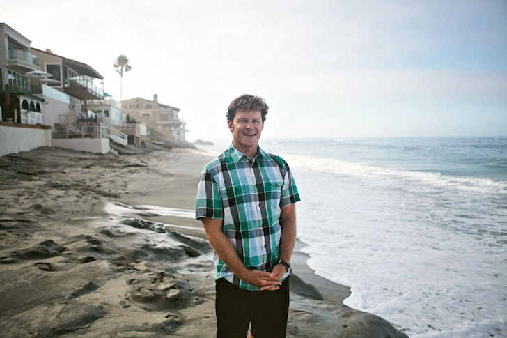 Chad Nelsen: leading the Surfrider ship | Photo: Surfrider
