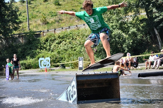 Chambers Creek Throwdown: sliding in non-tidal waters