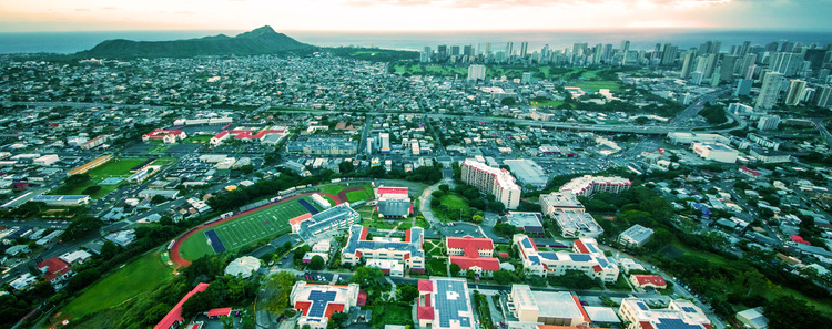 Chaminade University: a private institution committed to serving the Native Hawaiian population | Photo: CU