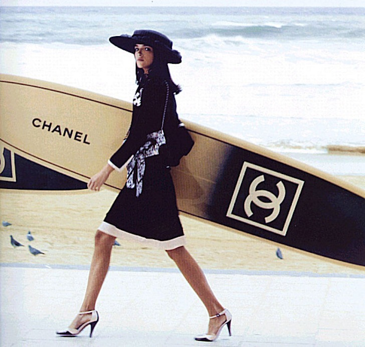 Chanel Fashion House Releases Luxury Surfboards
