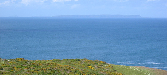 Jersey, Channel Islands: lots of space to windsurf
