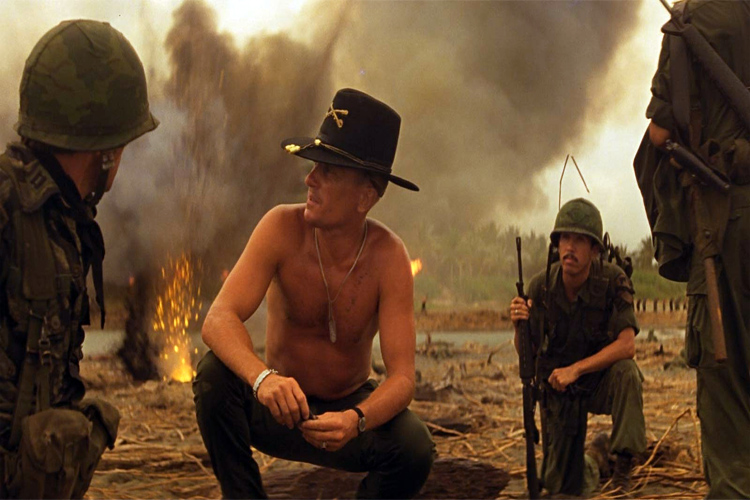 Apocalypse Now: Lieutenant Colonel Bill Kilgore tell his troops that Charlie don't surf