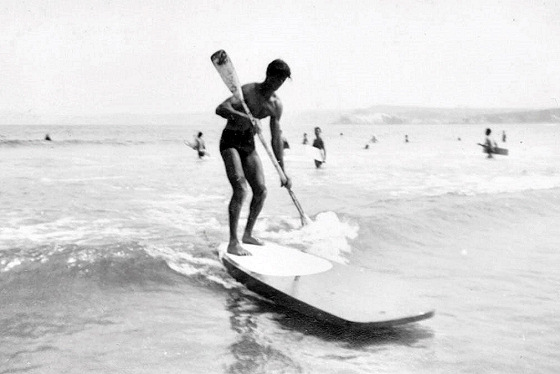 Charlie Force: SUP pioneer in 1953