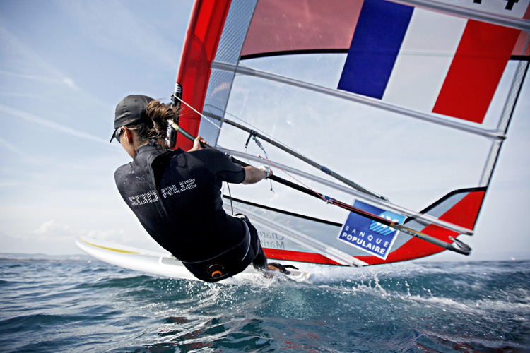 Charline Picon: fast and French | Photo: ISAF