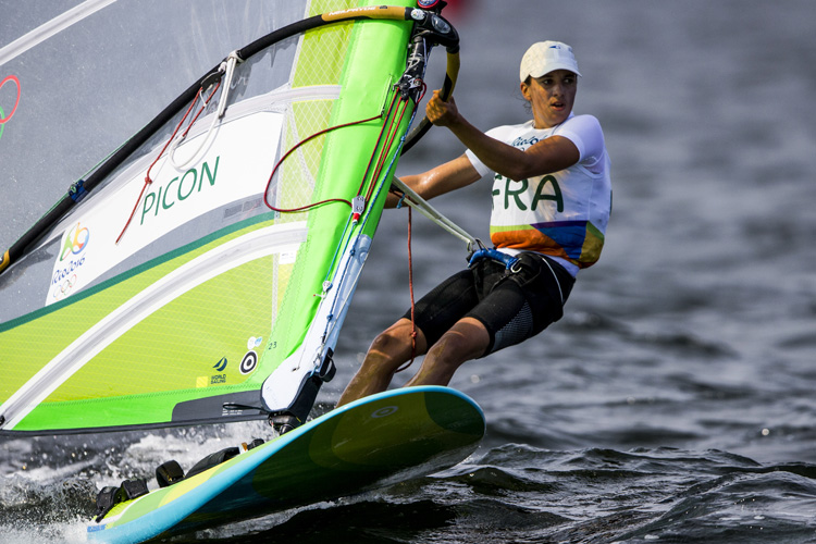 Charline Picon: he fought hard to secure a gold medal in the Rio 2016 Olympic Games | Photo: World Sailing