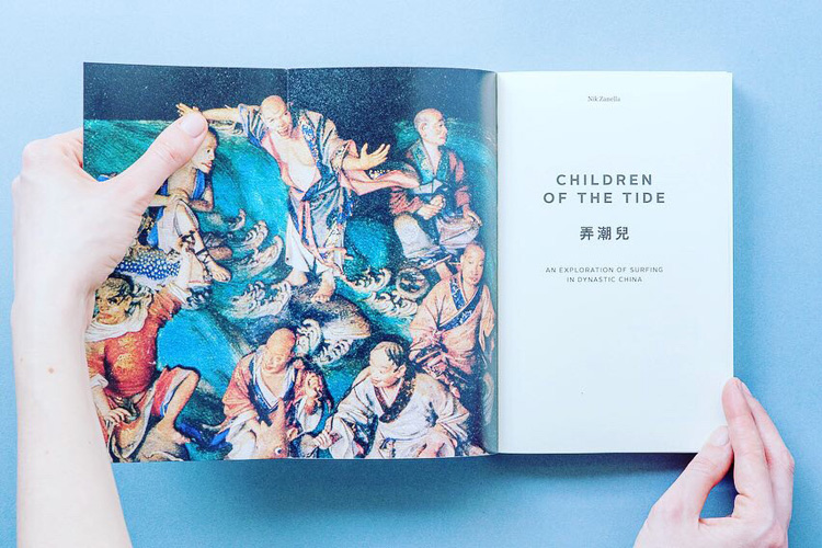 Children of the Tide: a fascinating book by Nik Zanella