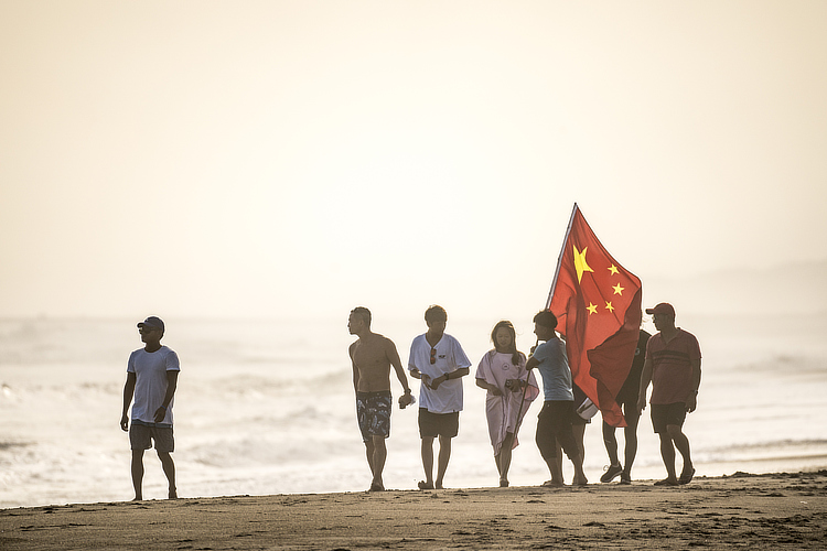 China: mental skills are the biggest advantage of the Chinese Olympic surfing team | Photo: ISA