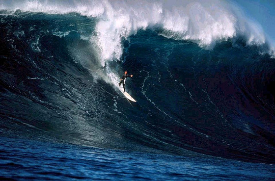 Chris Bertish: South African big wave charger