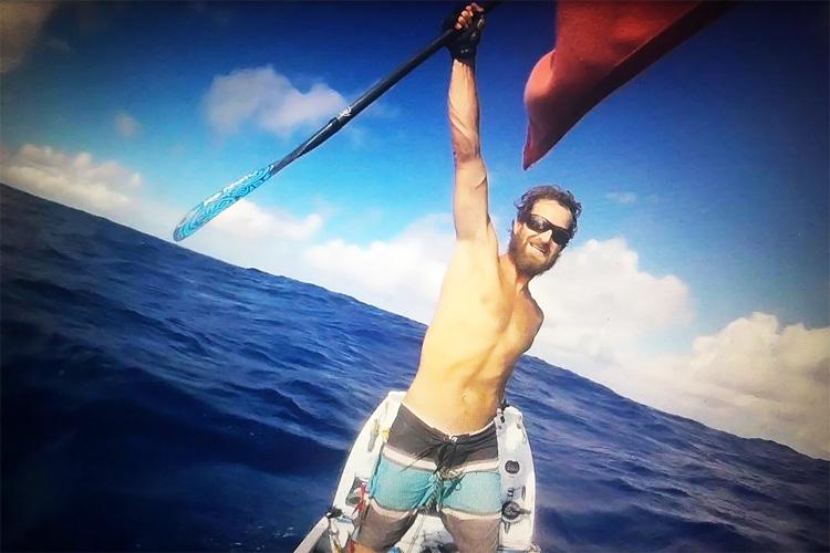 Крис Bertish: первый человек, который когда-либо пересечь Атлантический океан на SUP