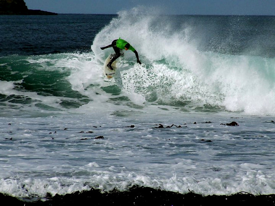 Chris Noble: the surfing highlander