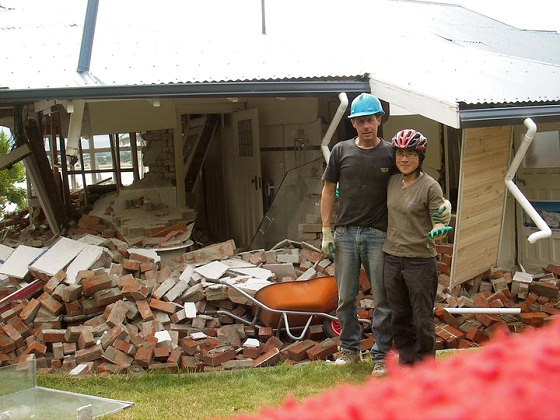 Christchurch earthquake: windsurfers united