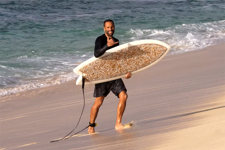 The Cigarette Surfboard: approved by Jack Johnson
