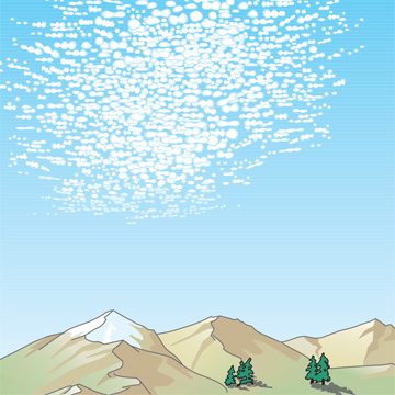 Cirrocumulus | Illustration: WMO
