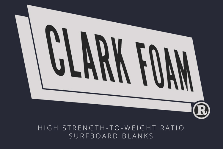 Clark Foam: the iconic logo can now be found in t-shirts