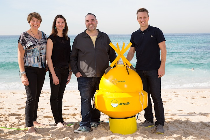 Clever Buoy: it detects sharks, not people