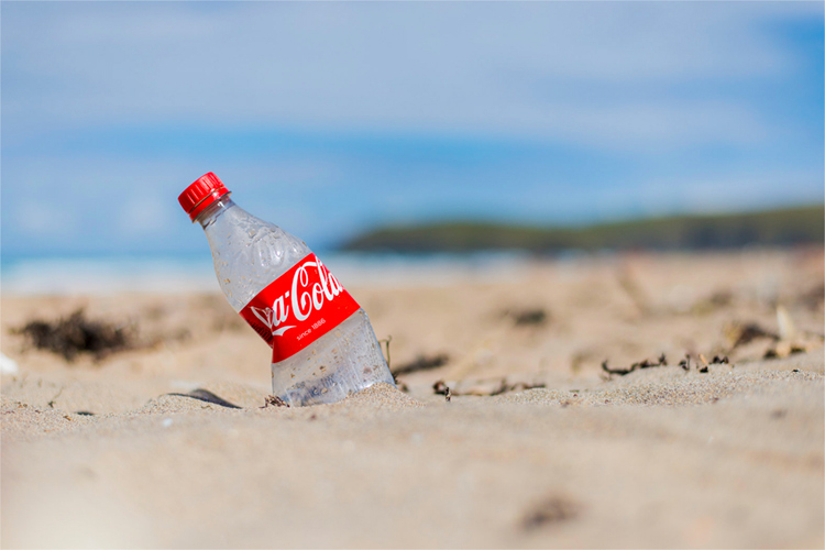 Coca-Cola: the company has plans to implement 50 percent recycled material in its packaging by 2030