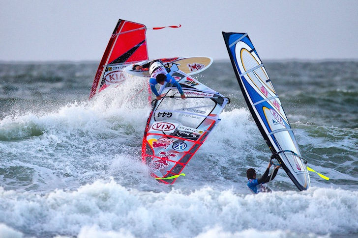 Cold Hawaii: a truly competitive windsurf spot