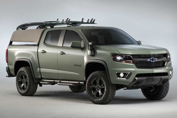 Colorado Z71 Hurley Concept: a SUV for surfers | Photo: Chevrolet