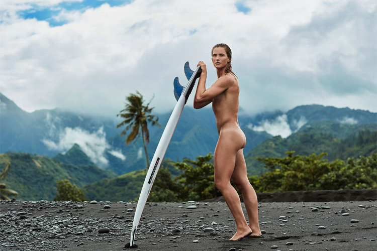 Courtney Conlogue: the shoots for ESPN's Body Issue 2016 were taken in Tahiti | Photo: Steven Lippman/ESPN
