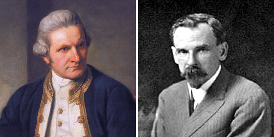James Cook and Alexander Hume Ford