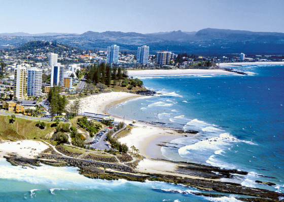 Coolangatta: surf city