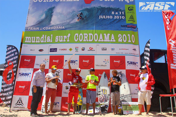 Cordoama Pro: winning in surfing and soccer