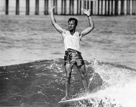 Corky Carroll: winner of the 1969 Smirnoff World Pro-Am Surfing Championships