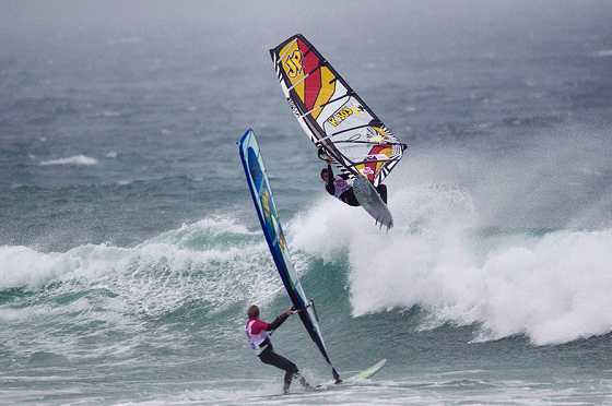 Cornwall Wave Classic: classic weather conditions