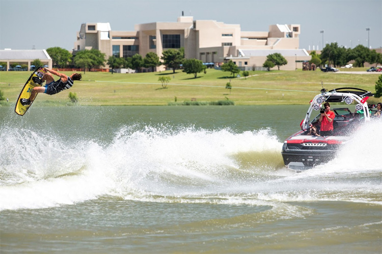 Cory Teunissen: one of the best riders of the Supra Boats Pro Wakeboard Tour
