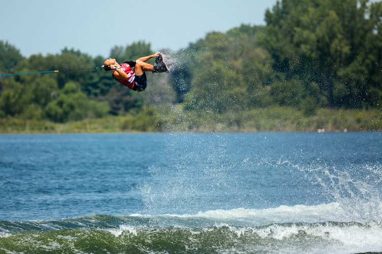 Cory Teunissen: your 2018 Pro Wakeboard Tour champion | Photo: PWT