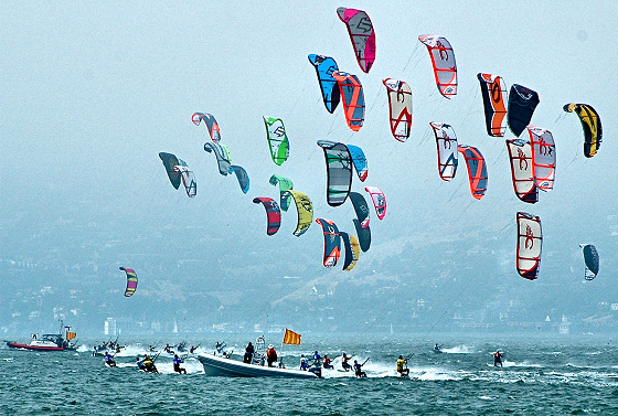 Kiteboarding: the future of sailing