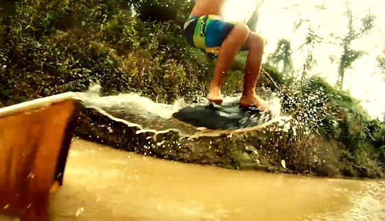 Creek Daze: Texan skimboarding style