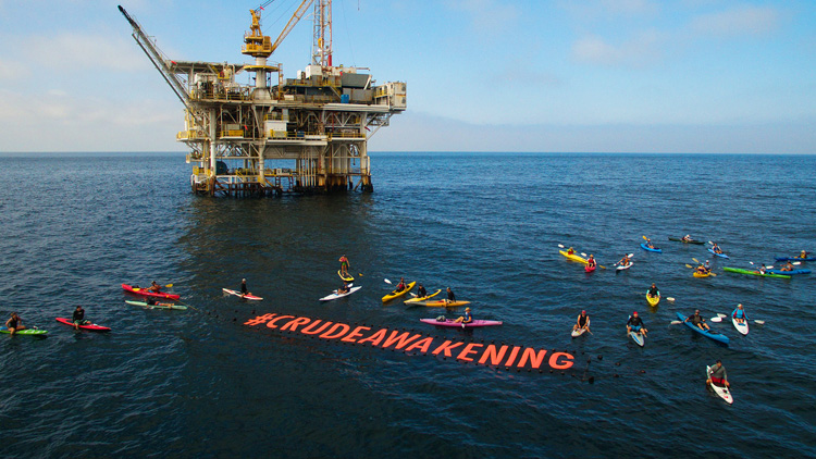 Crude Awakening: stop offshore drilling | Photo: Patagonia/Surfrider
