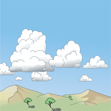 Cumulus | Illustration: WMO