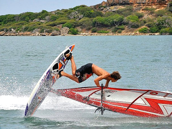 Curacao Challenge: freestyle maneuvers