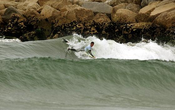 The Custom X Pro Junior 2011: several trains in line