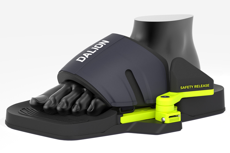 Dalion bindings: the developers hope that their creation becomes a worldwide standard | Photo: Dalion