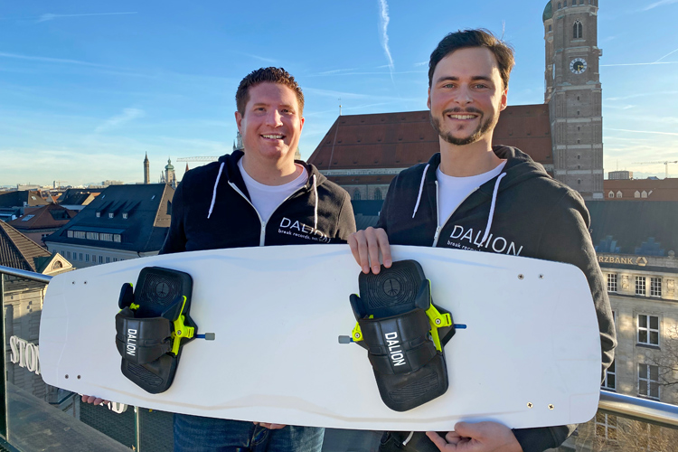 Thomas Lischke and Markus Zaglmann: the team behind Dalion Watersports | Photo: Dalion