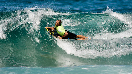 Damian King: a soldier beach pro