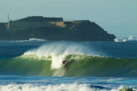 Damien Hobgood: this is Portugal