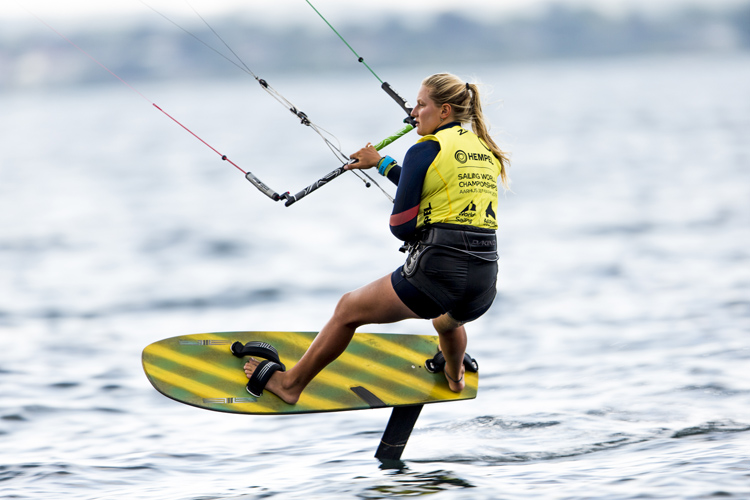 Daniela Moroz nominated for World Sailor of the Year 2018