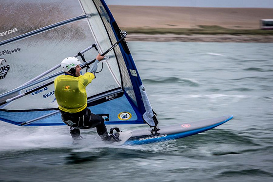 Daniel Borgelind: the fastest sailor at the 40th Weymouth Speed Week