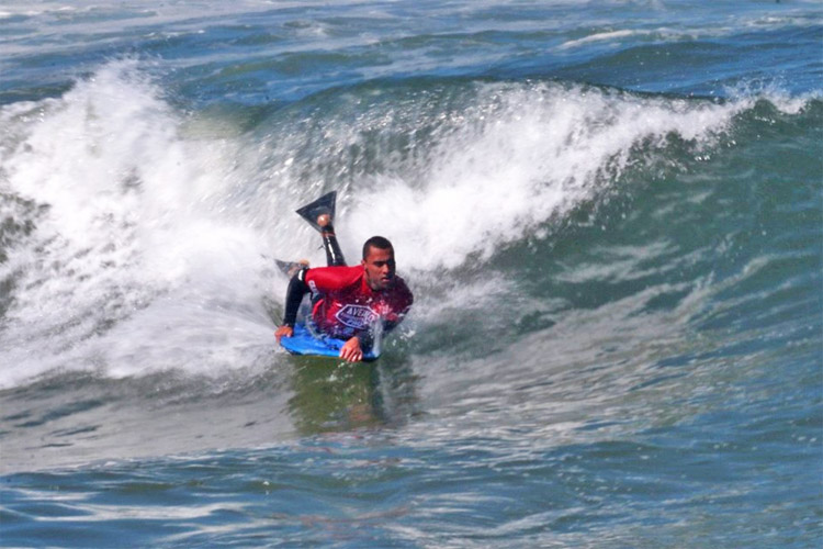 Daniel Fonseca: he beat Pierre-Louis Costes in the Aveiro EuroBodyboard Pro