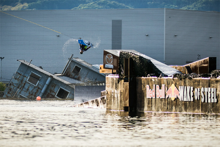 Daniel Grant: third victory at the Red Bull Wake of Steel | Photo: Greindl/Red Bull
