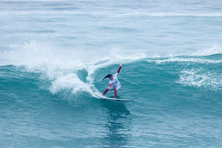 Daniella Rosas: she should represent Peru in surfing's Olympic debut | Photo: Jimenez/ISA