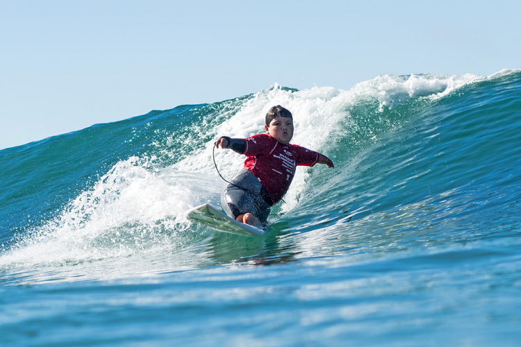 Davi Teixeira: one of the most talented adaptive surfers in the world