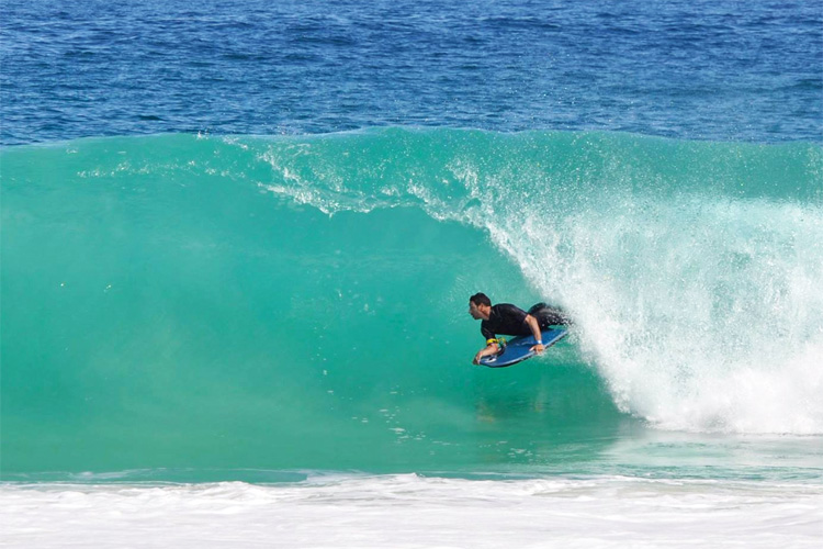 Davo Fever: a French veteran in the free bodyboarding world | Photo: Davo Fever Facebook