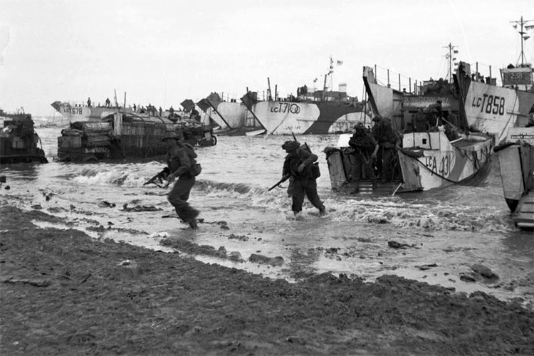 Operation Overlord: British Forces during the invasion of Normandy